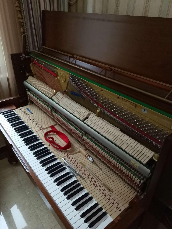 赛乐尔GS-120D学生练习琴调律及琴键维修