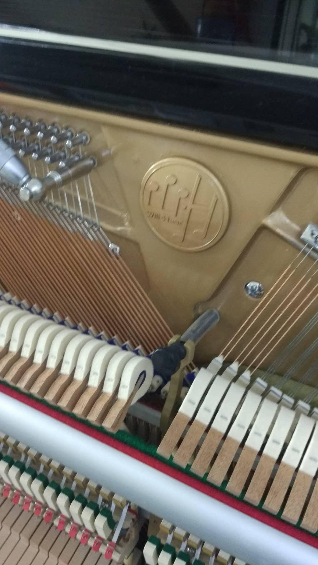 Will·Hear威尔赫怡UP-123立式钢琴调律,石家庄钢琴调律和维修电话:15830649179